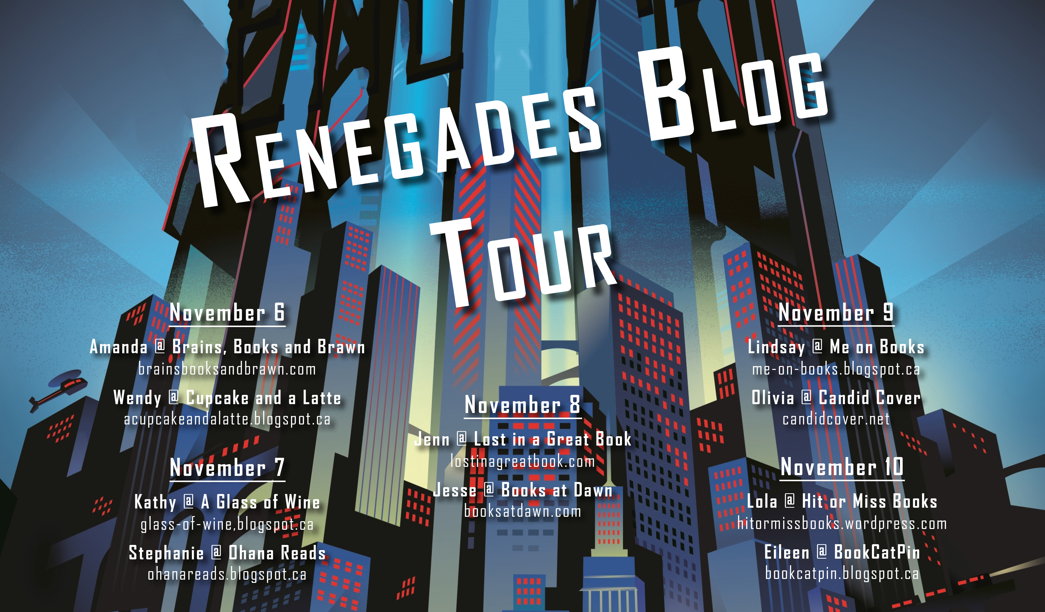 Blog Tour, ARC Review and Excerpt: Renegades by Marissa ...